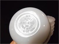 Fire-King 6 oz Bowl Set (10)