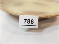Frankoma Brown Plate