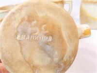 Frankoma Brown/Beige Mugs (7)