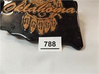 Frankoma Black Oklahoma Trivet