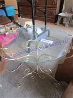 GLASSTOP TABLE