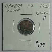 September 29th. Online-only coin auction