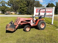 Fall Lawn Mower,Mini Excavator, & Implements ONLINE ONLY