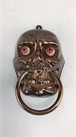 Googly Eye Skull Halloween Door Knocker.