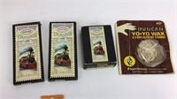 Pop Gun w/ Postage Stamp Trains