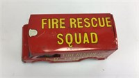 VTG Fire Rescue Squad Tintype Toy