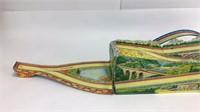 Great Ohio Art Tin Toy Alpine Track w/Vehicles
