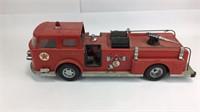 Buddy L Corp Texaco Fire Chief Tin Toy