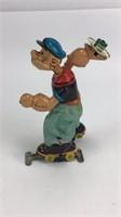 MAR Toys Tin Wind Up Popeye Skater
