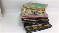 Lot of 7 Springbok & Other Puzzles