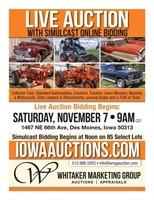 Des Moines, Iowa LIVE Auction Event