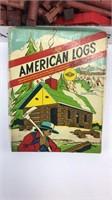 Large Lot of Vintage Halsam American Logs