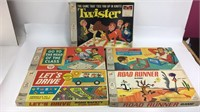 MB Battleship, Road Runner, Twister & More Games
