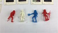 Lot of Plastic Astronauts + NASA Stori-Views