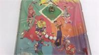 Vintage Sports Hand Held Pinball Game