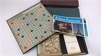 English & French Editions of Scrabble Games