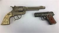 4 Vintage Metal Toy Guns