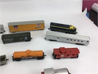 Lot of 15+ Various Toy Trains / Tyco, Mantua +