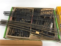 Large Lot of Train Layout Buildings/Scenery Items
