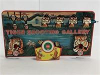1966 Marx Vintage Tiger Shooting Gallery Game
