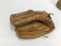 3 Baseball Gloves + Paoli Rams Mini Football