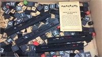 Vintage Anagrams Game (Not in Box)