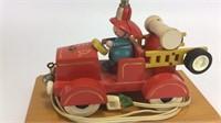 Vintage Nursery Plastics Inc. Firefighter Lamp