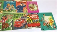 Vintage Rand McNally Junior Elf Books and Others