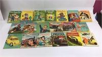 Vintage Rand McNally Books and Wonder Books