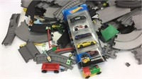 Hot Wheels with Tracks and Other Toys