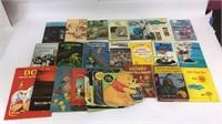 Large Lot of Vintage Children's Books (1960-1970)