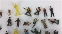 Vintage Cowboy, Army, and Other Miniatures