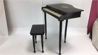 Vintage Children's Miniature Grand Piano