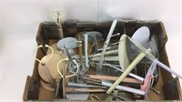 Large Lot of Various Sized Doll Display Stands