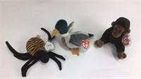 8 Vintage Plush Toys / Beanie Baby, Boyds Bears +