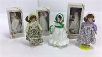 6 Gorham Porcelain Dolls