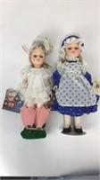 5 Wonderful World of Effanbee Dolls w/ Stands