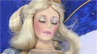 Franklin Heirloom Rapunzel & Sleeping Beauty Dolls