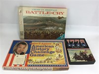 3 American History Themed Games