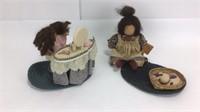 Lizzie High Wooden Dolls Vanity / Cats