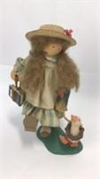 3 Lizzie High Wooden School Themed Dolls