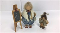 6 Lizzie High Wooden Dolls