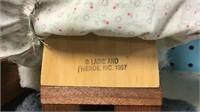 Lizzie High Doll w/ Teddy Bear in Cradle