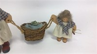 Lizzie High Mother and Child Laundry Dolls