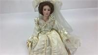 3 Vintage Porcelain Bride Dolls