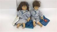 Dolfi Italian Wooden Carved Dolls