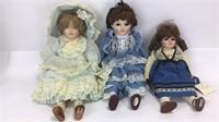 3 Gorham Musical Dolls