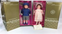 Horsman 1991 Replica of Dolly Rosebud and Brother