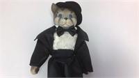 2 Kingstate Porcelain Victorian Cat Dolls