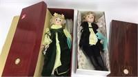 Doll Dynasty Hamlet & Ophelia Porcelain Dolls